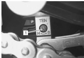 Suzuki GSX-R 1000 Service Manual: Rear shock absorber adjustment